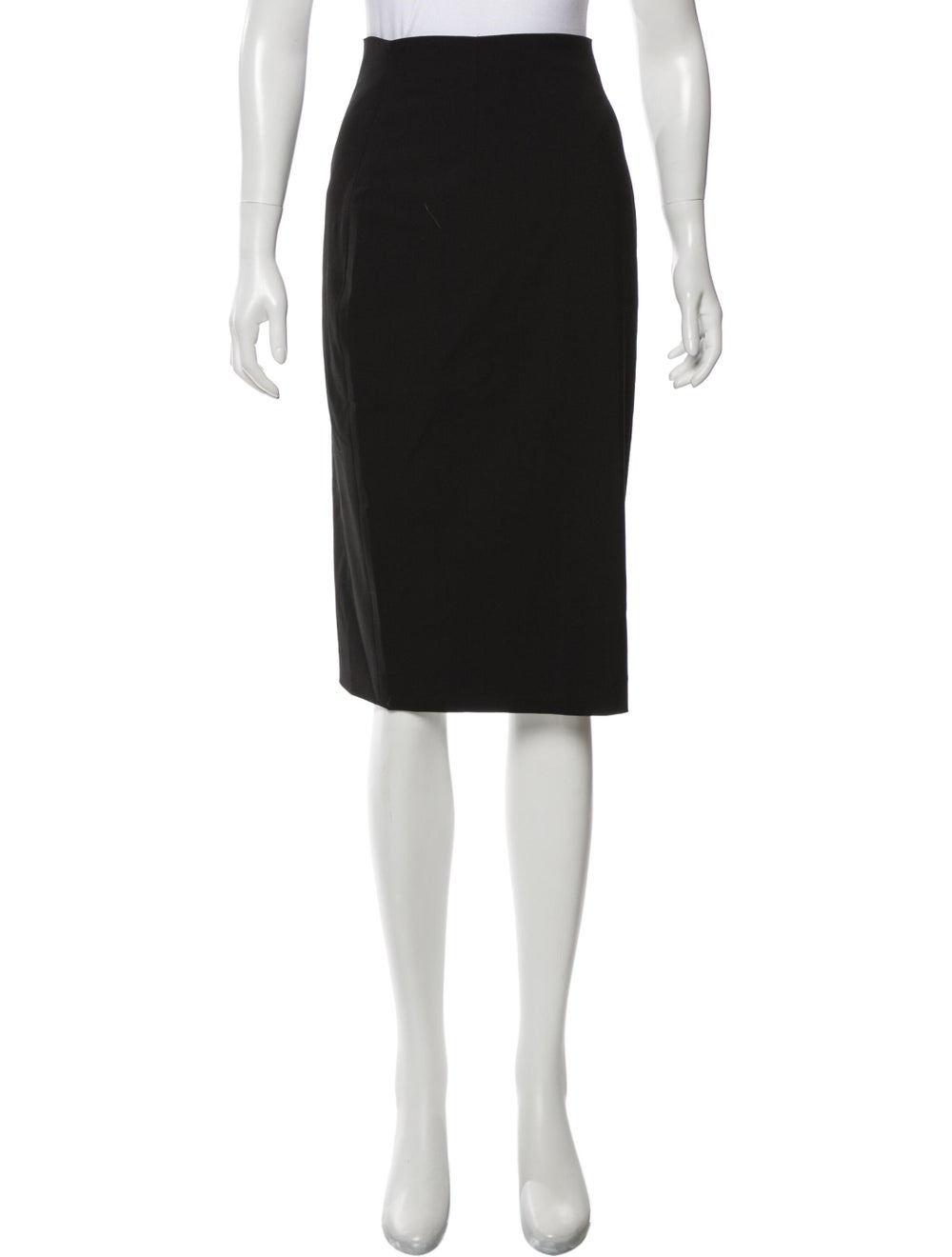 Plein Sud Knee-Length Skirt Black - image 1