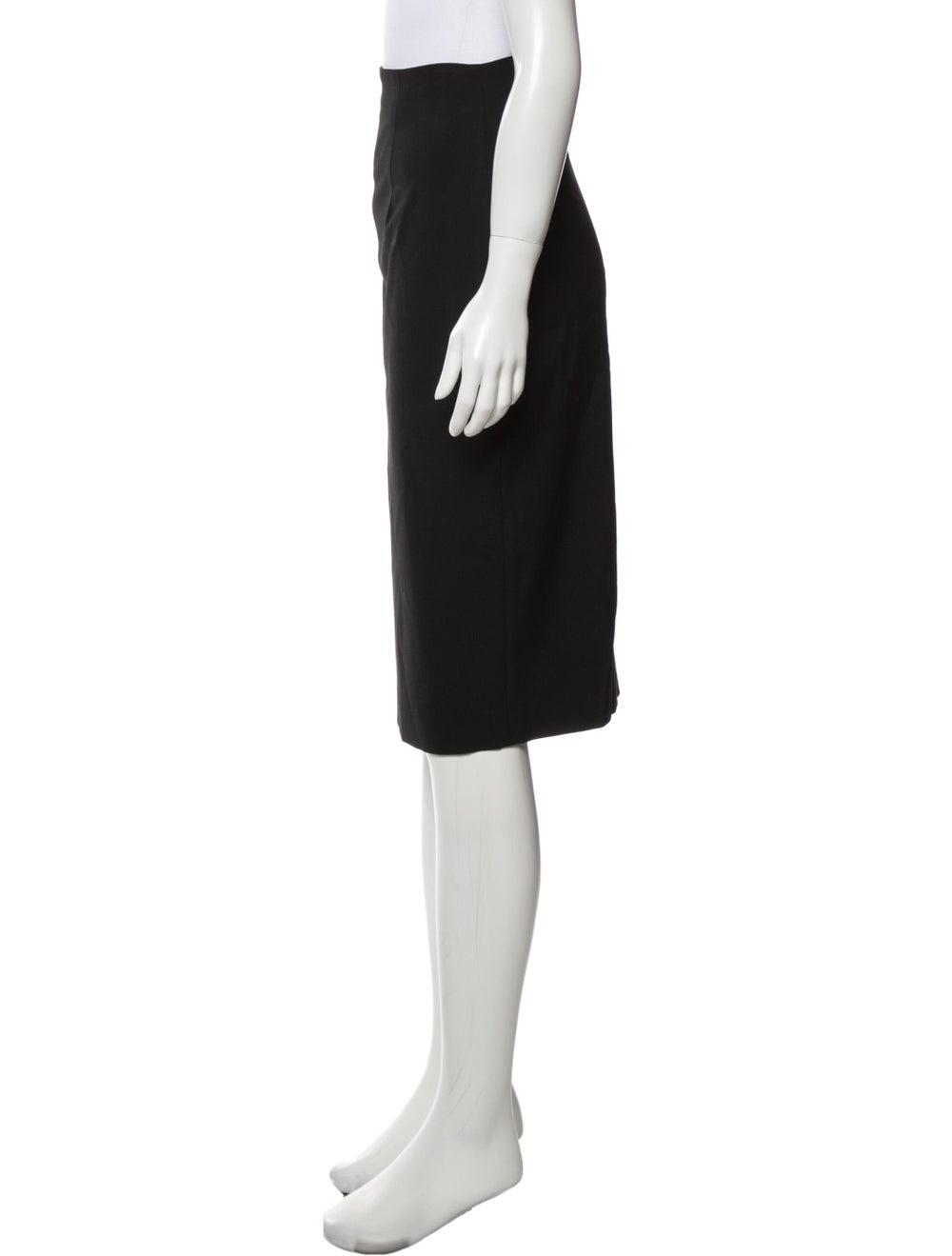 Plein Sud Knee-Length Skirt Black - image 2