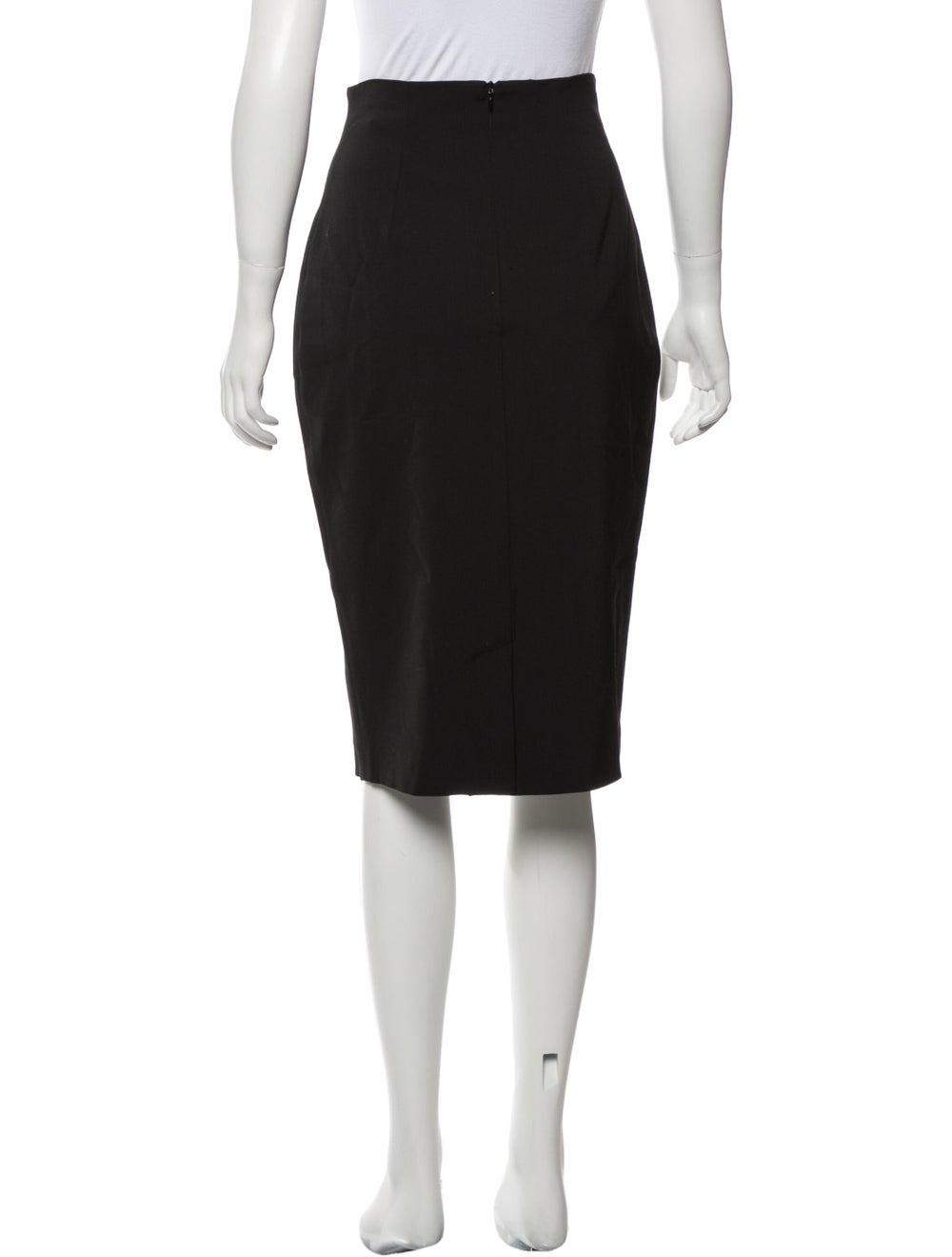 Plein Sud Knee-Length Skirt Black - image 3