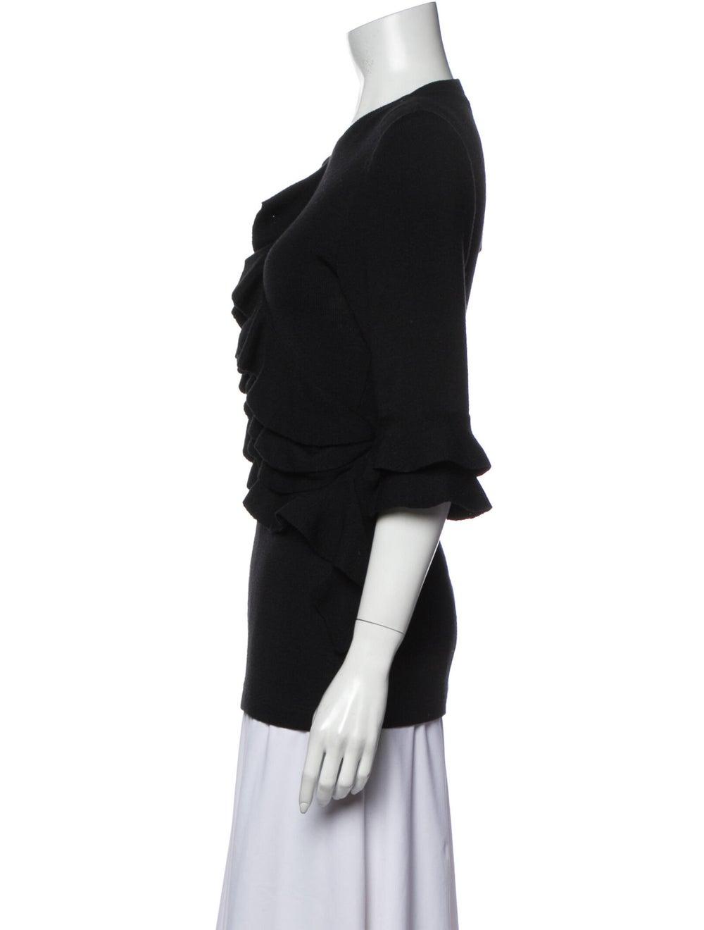 Plein Sud Crew Neck Sweater Black - image 2