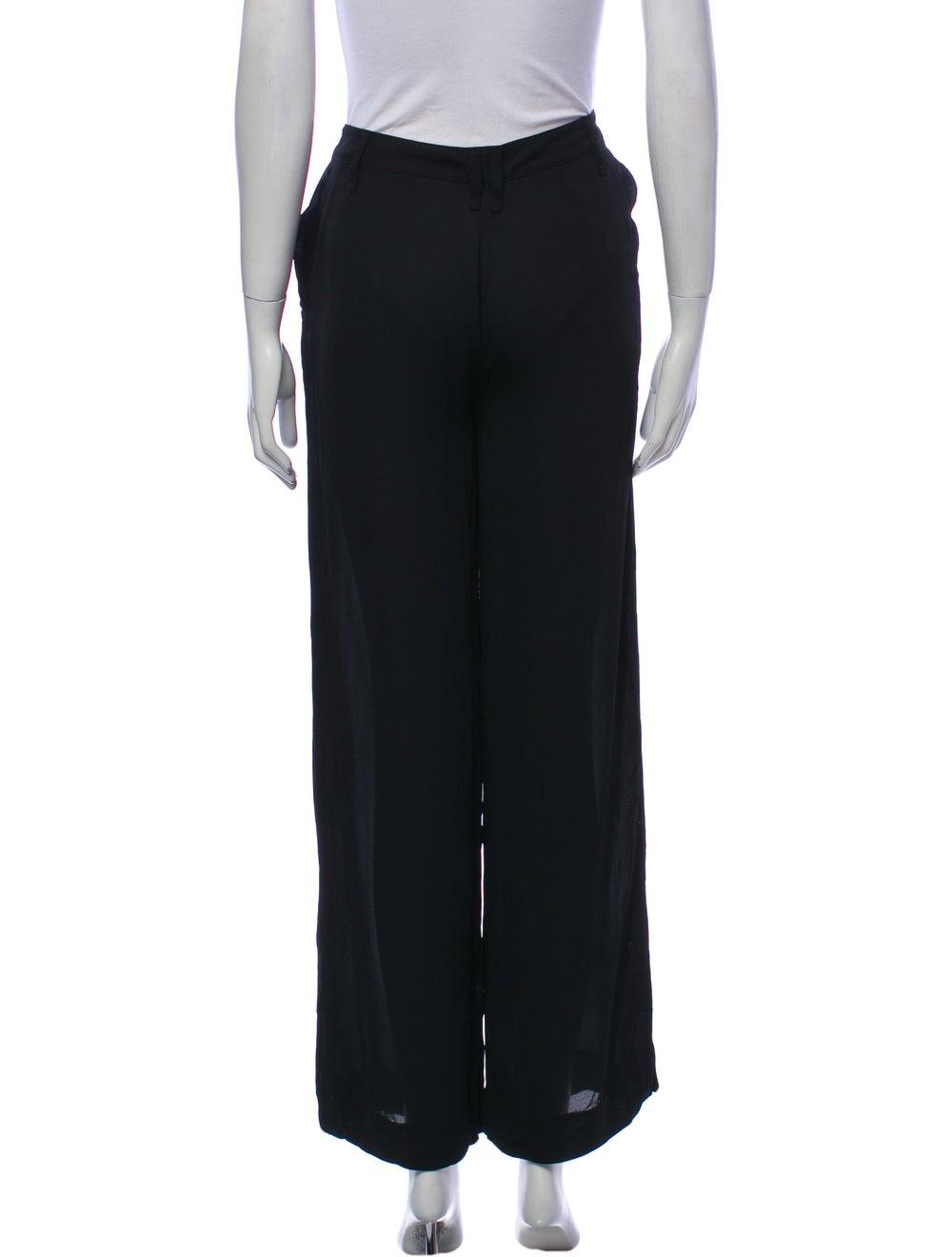 Plein Sud Wide Leg Pants Black - image 3