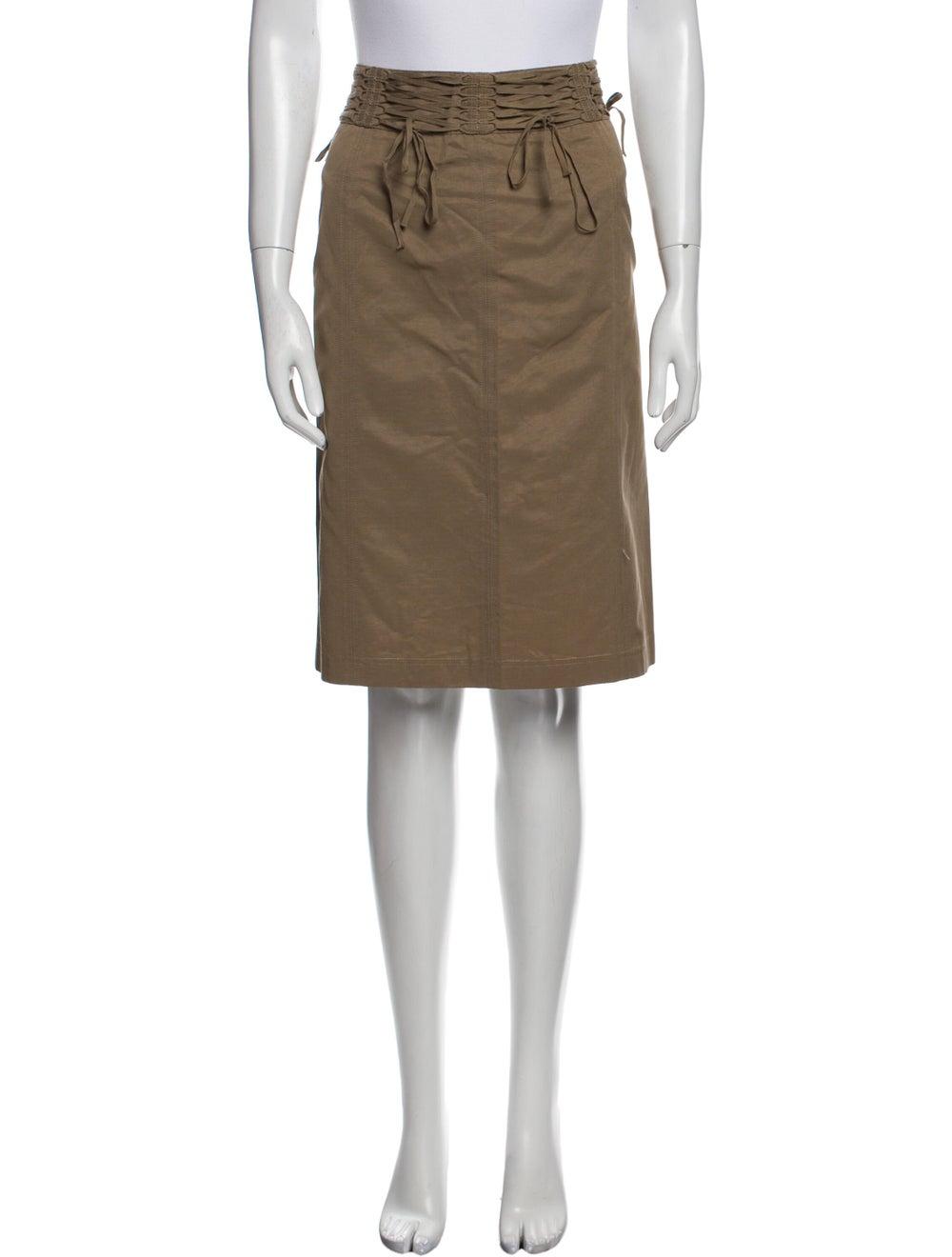 Plein Sud Knee-Length Skirt - image 1
