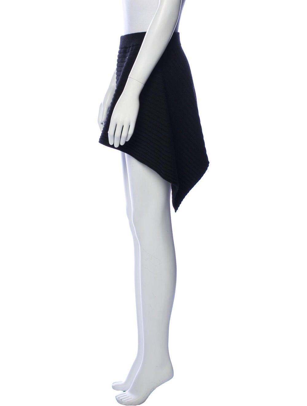 Plein Sud Virgin Wool Knee-Length Skirt Wool - image 2