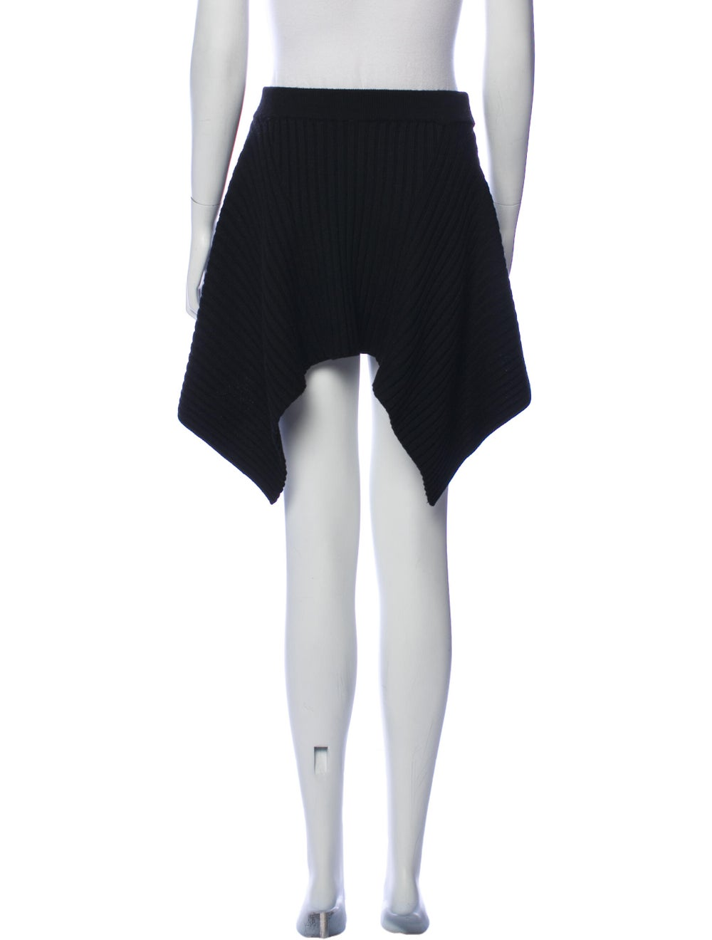 Plein Sud Virgin Wool Knee-Length Skirt Wool - image 3