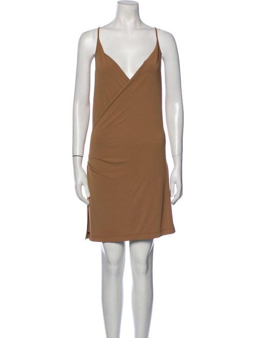 Plein Sud V-Neck Mini Dress