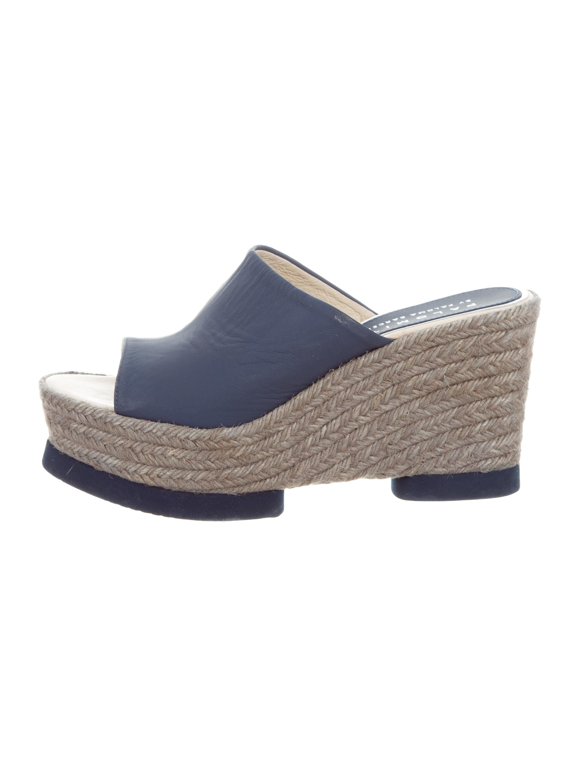 49656d4e348c Women · Shoes  Palomitas by Paloma Barceló Leather Espadrille Wedges. Leather  Espadrille Wedges
