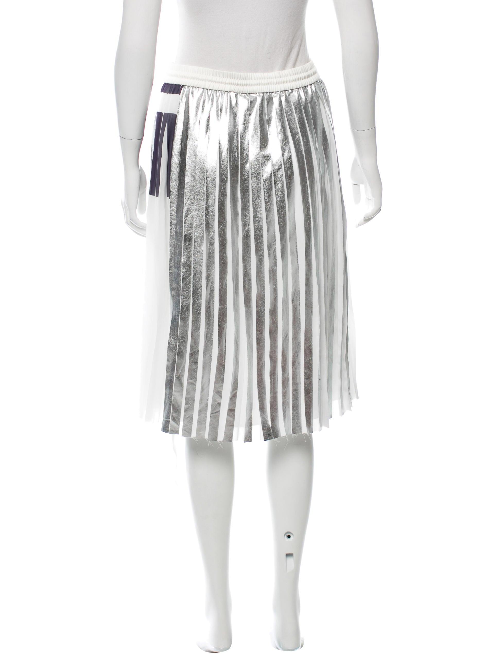 school pleated knee length skirt clothing