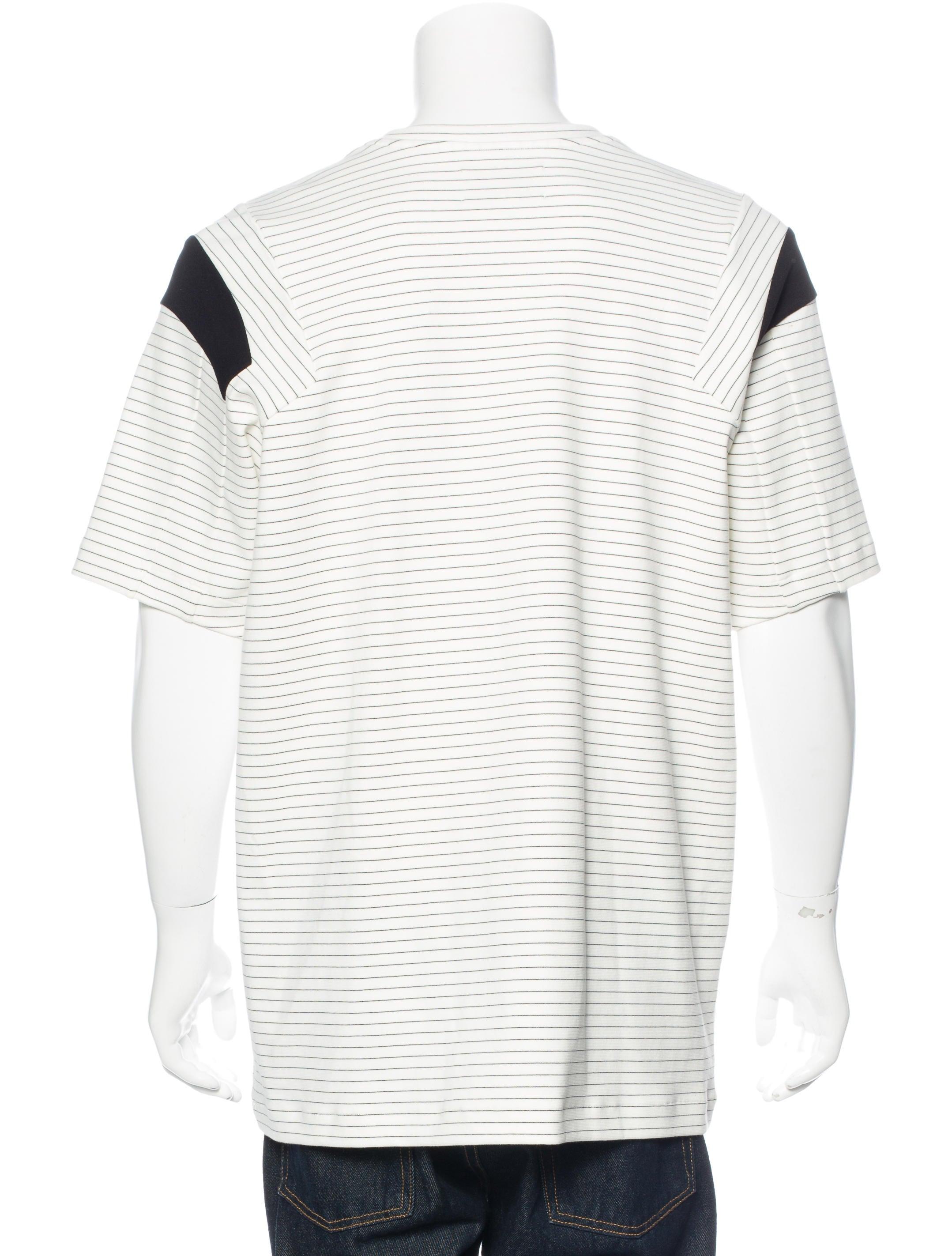 Public school striped short sleeve t shirt w tags for Short sleeve school shirts