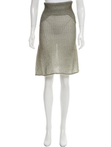 Paco Rabanne Knit Mini Dress None