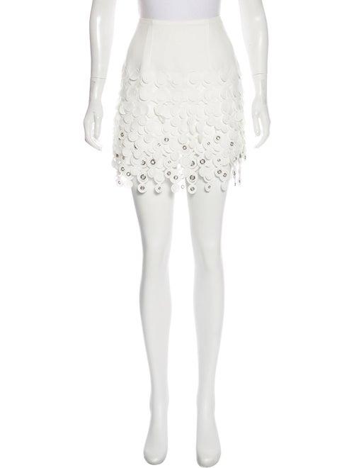 Paco Rabanne Mini Skirt White