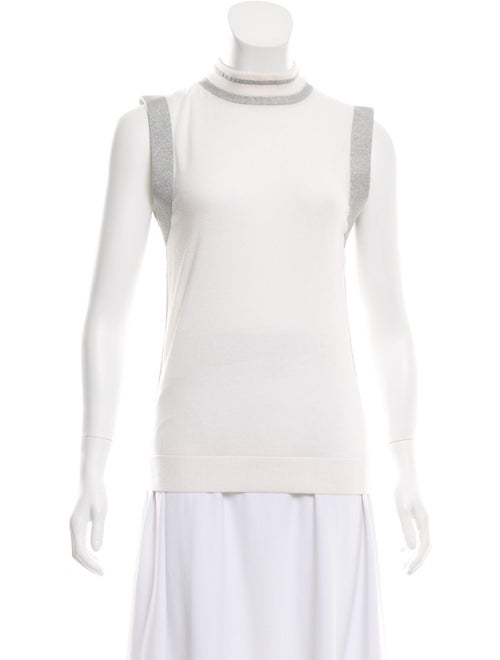 Paco Rabanne Turtleneck Sweater White - image 1