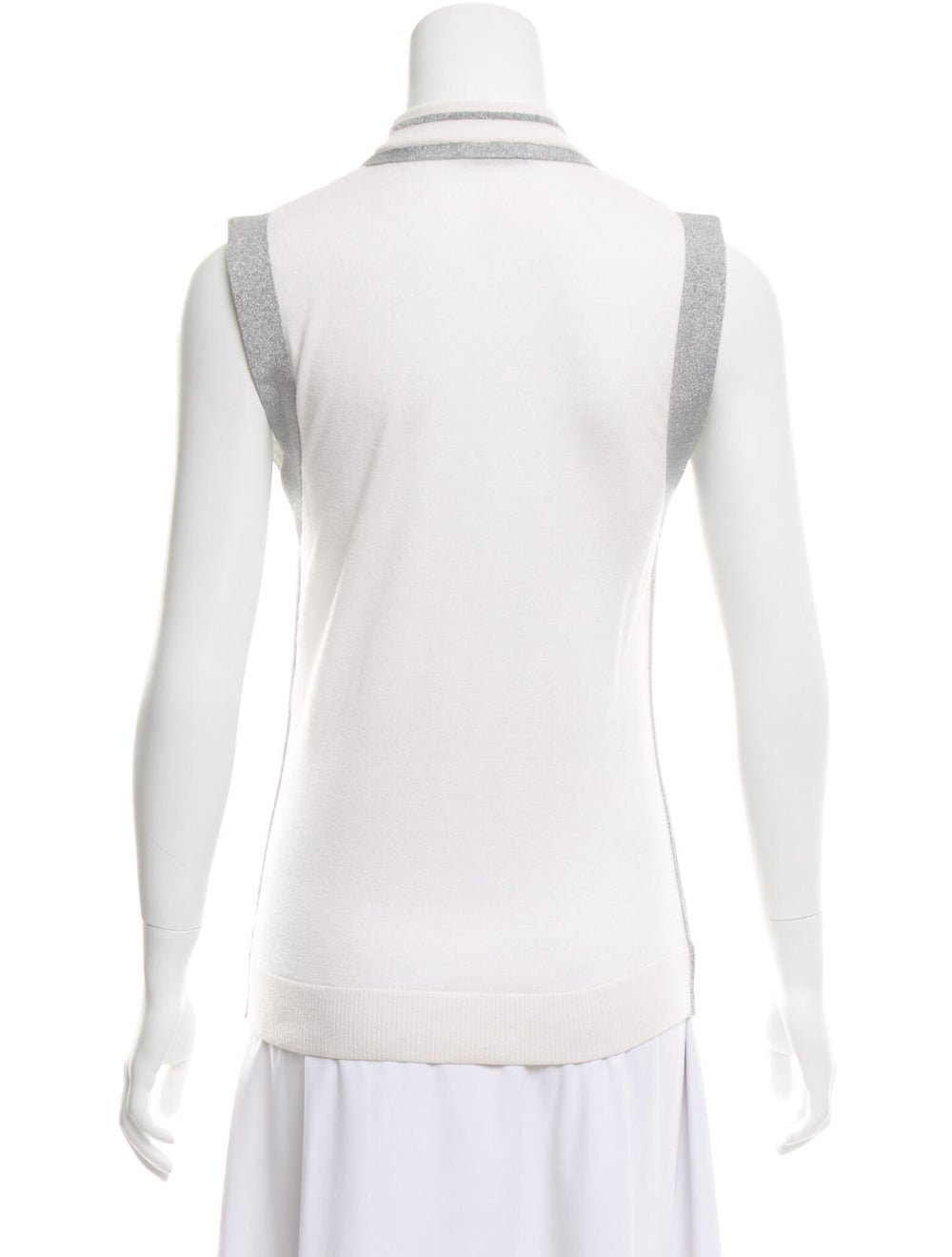 Paco Rabanne Turtleneck Sweater White - image 3
