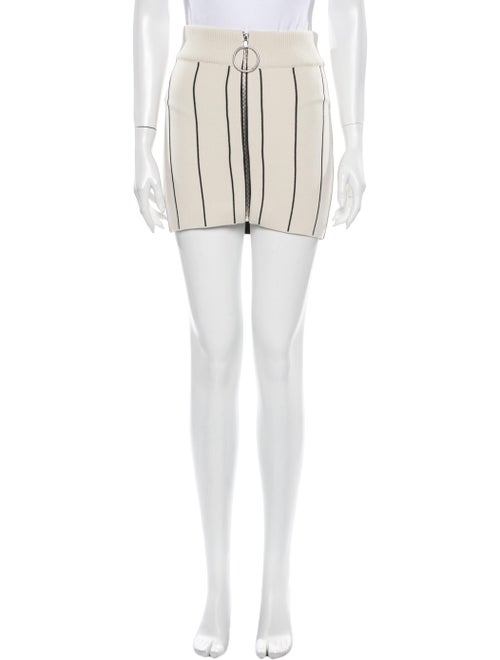 Paco Rabanne Striped Mini Skirt