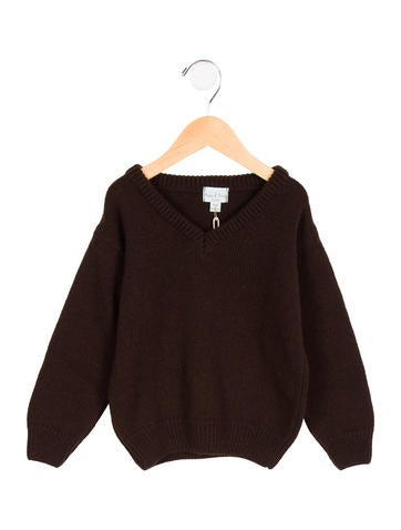 Papo d'Anjo Boys' V-Neck Sweater None