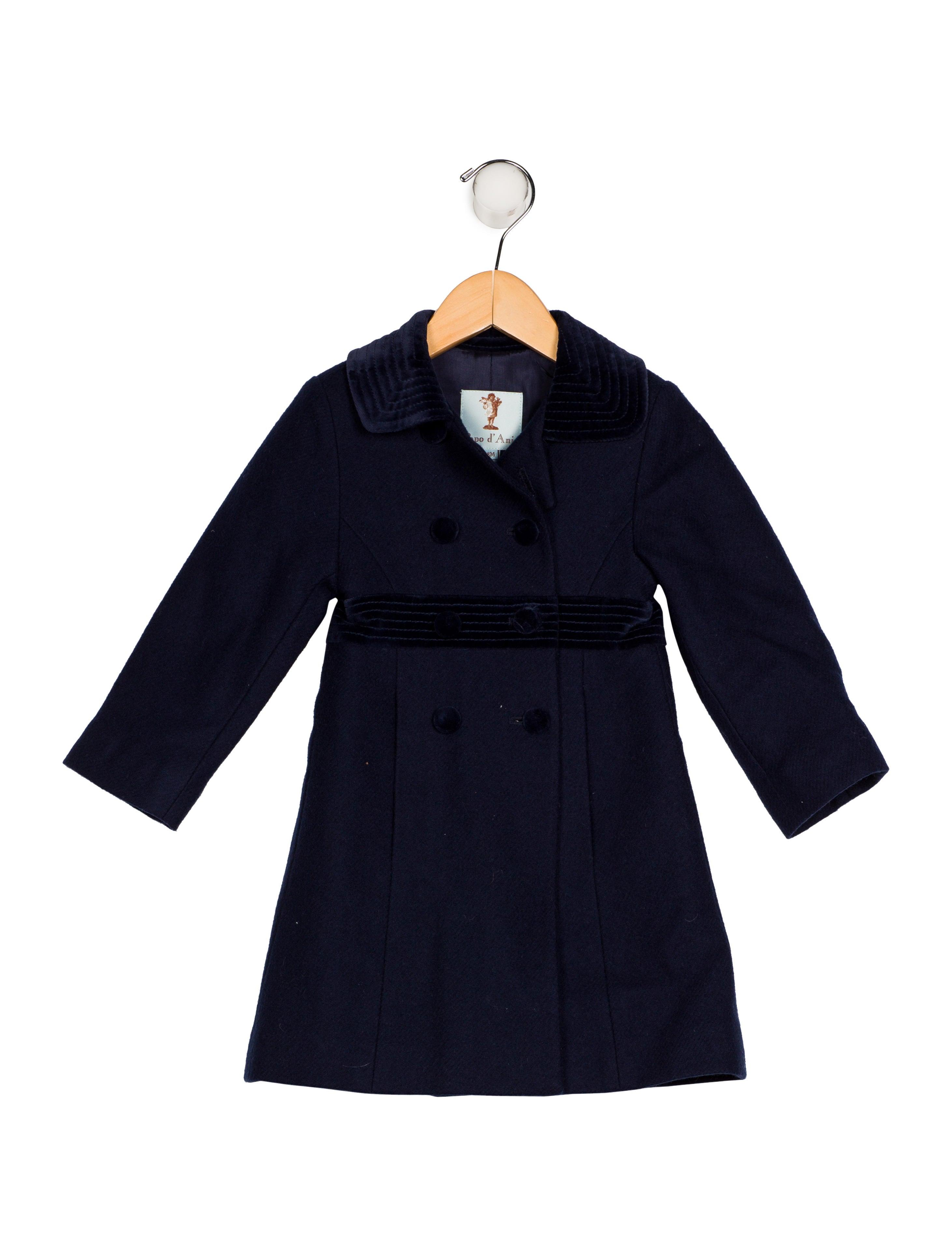 2cbeadd6d Papo d Anjo Infant Girls  Wool Peacoat - Boys - WPDAJ20615