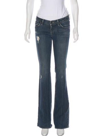 Low-Rise Wide-Leg Jeans