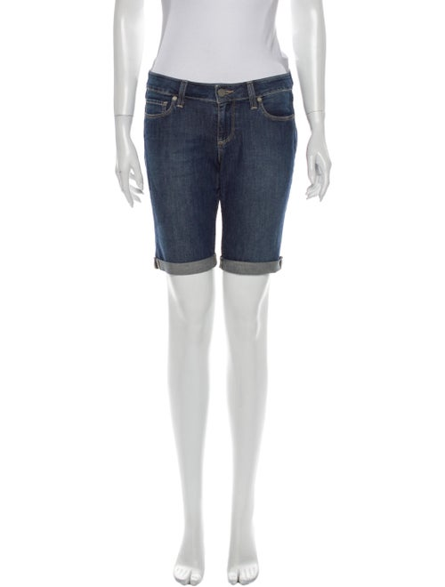 Paige Denim Knee-Length Shorts Denim