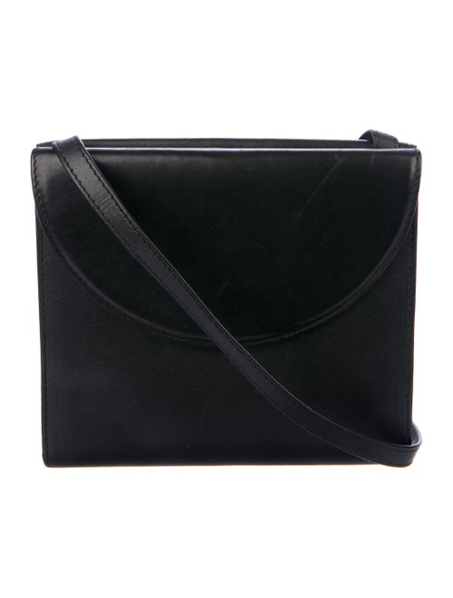 Perrin Leather Crossbody Bag Black