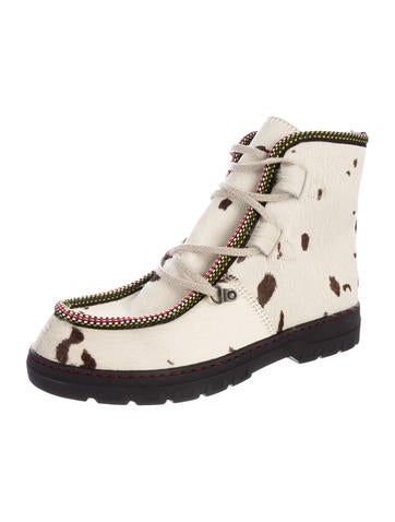 Penelope Chilvers Ponyhair Lace-Up Boots for sale cheap online shop for cheap sale supply clearance finishline cheap sale nicekicks 4CR4NI0lnS
