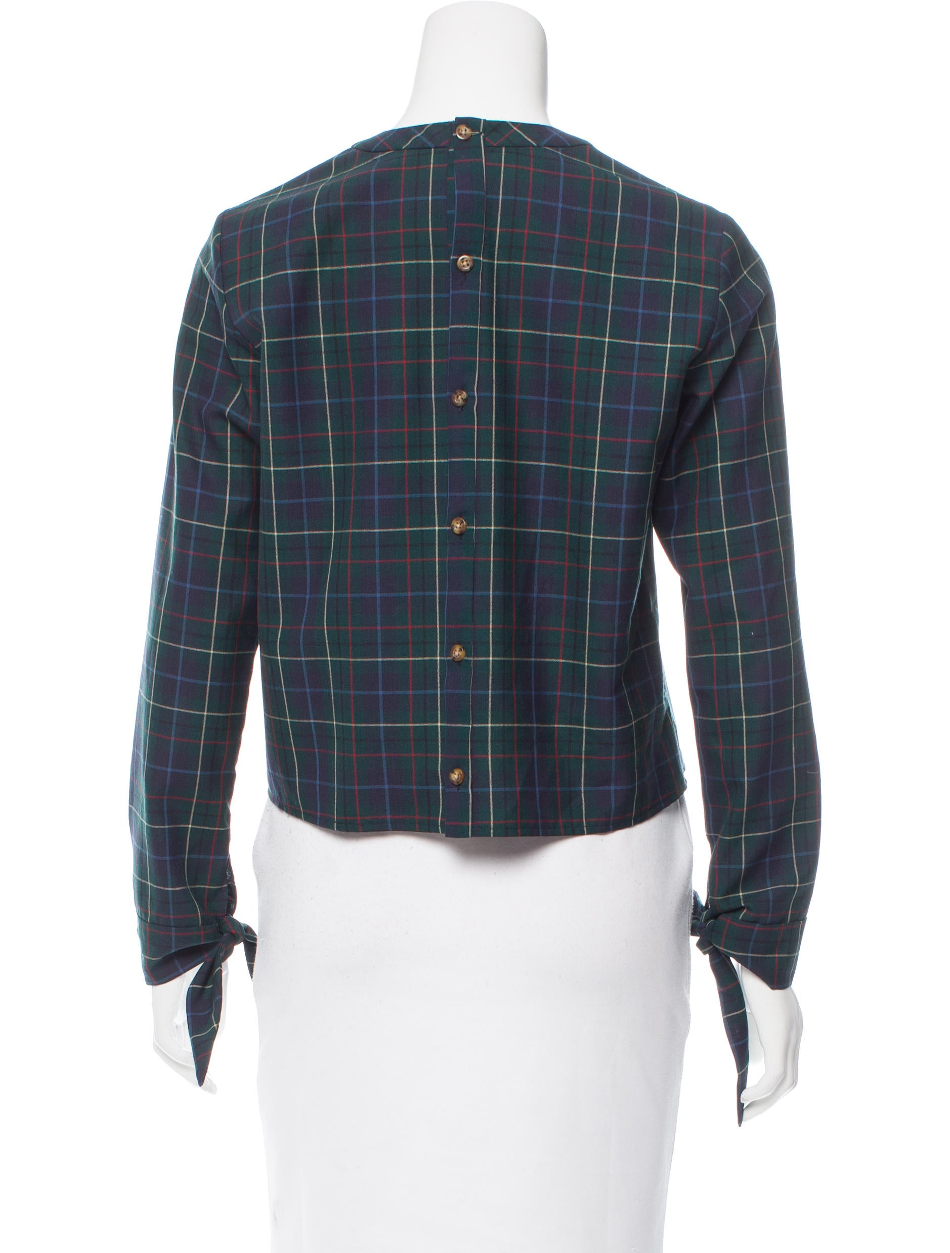 Pendleton x opening ceremony wool plaid top clothing for Best wool shirt jackets