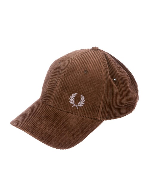 Fred Perry Logo Corduroy Cap brown