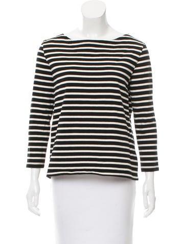 Petite bateau striped long sleeve top clothing for Petit bateau striped shirt