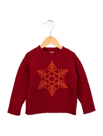 Petit Bateau Boys' Crew Neck Wool Sweater None