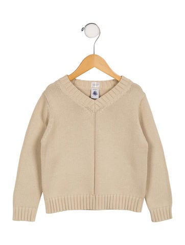 Petit Bateau Boys' Knit Long Sleeve Sweater None