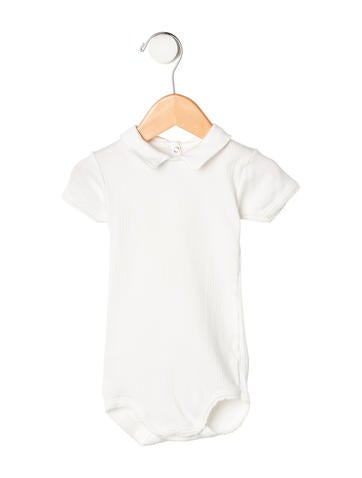 Petit Bateau Girls' Short Sleeve All-In-One None