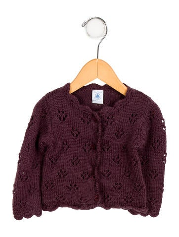 Gils' Knit Button-Up Cardigan