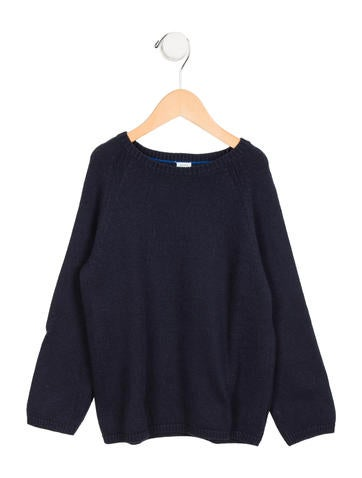 Petit Bateau Boys' Crew Neck Pullover Sweater None