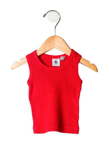 Petit Bateau Girls' Sleeveless Tank Top None