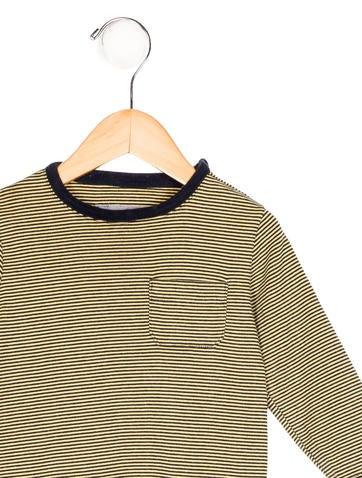 Petit bateau boys 39 striped long sleeve shirt boys for Petit bateau striped shirt