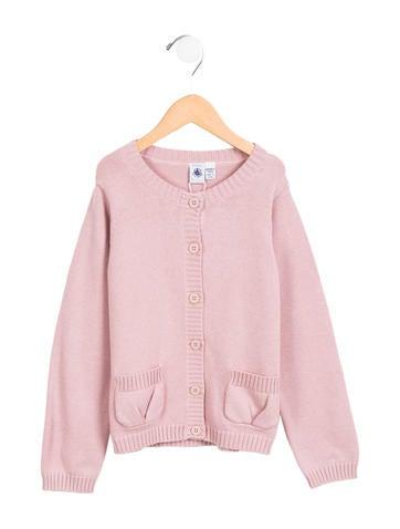 Petit Bateau Girls' Button-Up Cardigan w/ Tags None