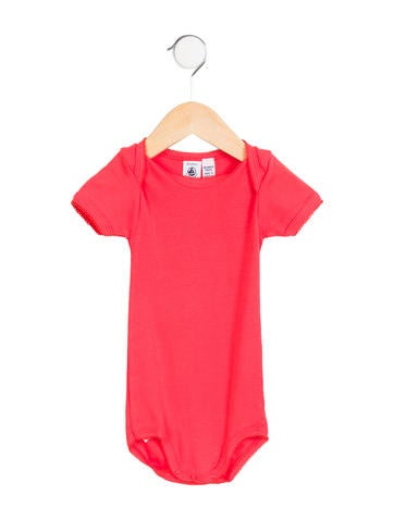 Petit Bateau Girls' Scalloped Knit All-In-One None