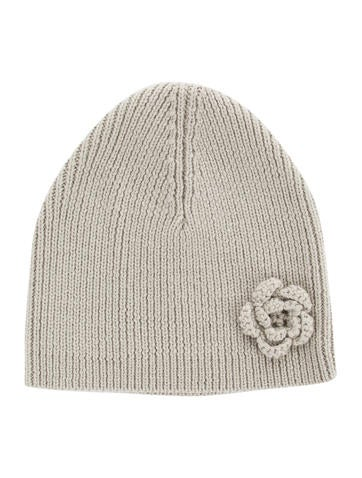 Petit Bateau Girls' Wool Knit Beanie None