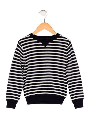 Petit Bateau Boys' Striped Knit Sweater None