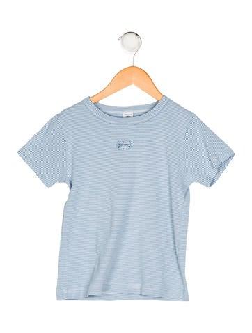 Petit Bateau Boys' Striped Knit Shirt None