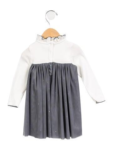 Girls' Embellished Star Dress