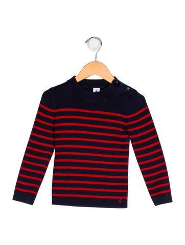 Petit Bateau Boys' Striped Knit Sweater None
