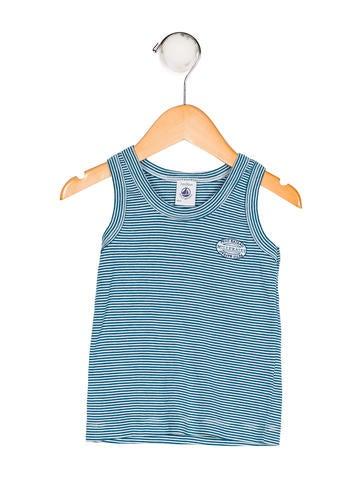 Boys' Striped Knit Shirt
