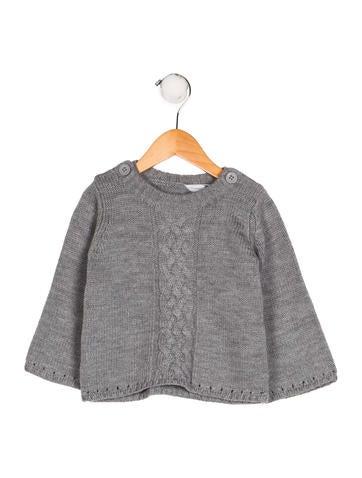 Petit Bateau Girls' Wool Knit Sweater None