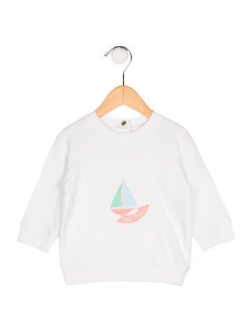 Petit Bateau Boys' Knit Printed Sweater None