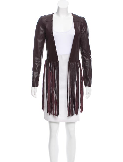 The Perfext Fringed Leather Jacket