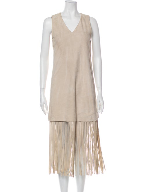 The Perfext Suede Mini Dress