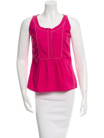 Philosophy di Alberta Ferretti Sleeveless Top None