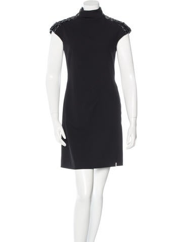 Philosophy di Alberta Ferretti Textured Sheath Dress None
