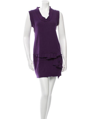 Philosophy di Alberta Ferretti Sleeveless Knit Dress None