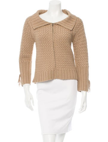 Philosophy di Alberta Ferretti Knit Long Sleeve Sweater None