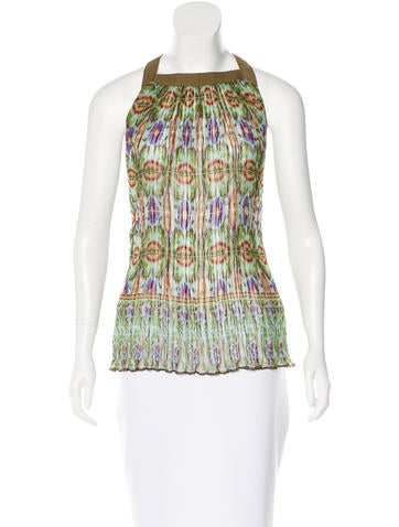 Philosophy di Alberta Ferretti Silk Printed Top None